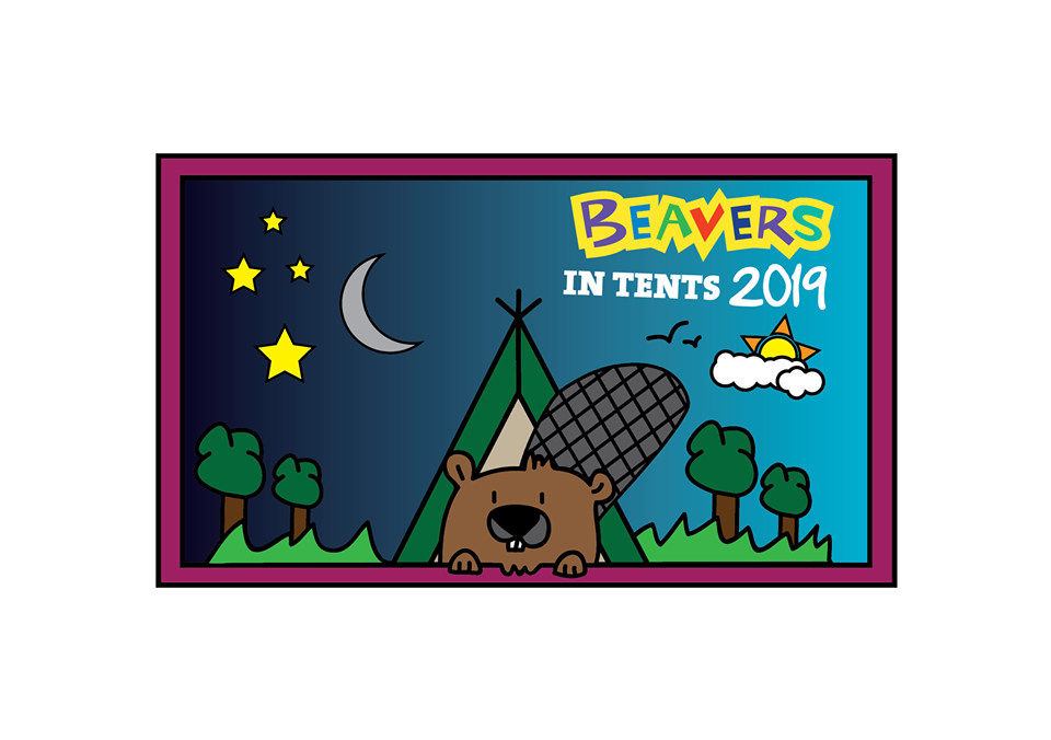 Beavers in Tents Event Logo